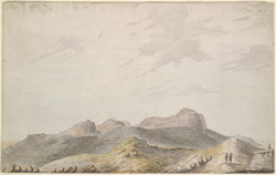 View of Sautgarh (Mysore).  Between 1790 and 1792